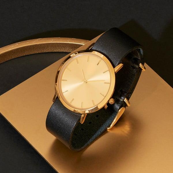 Czarny zegarek Analog Watch Co. Classic