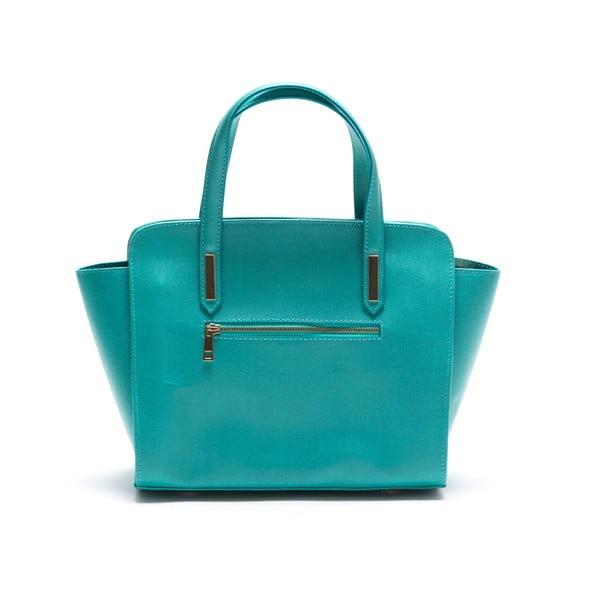 Skórzana torebka Luisa Vanini 421, turkusowa