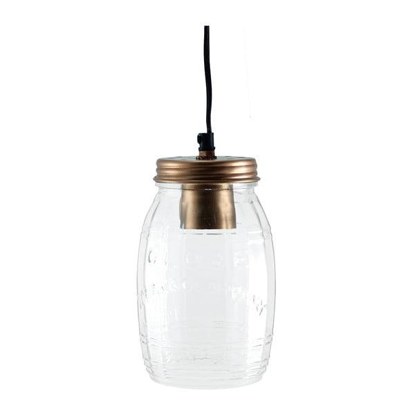 Lampa wisząca Glass Jar Copper