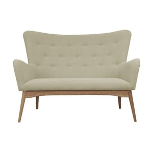 Beżowa sofa dwuosobowa Helga Interiors Karl