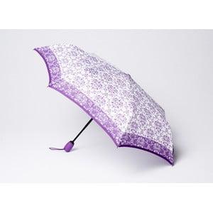 Składany parasol Damask, fioletowy