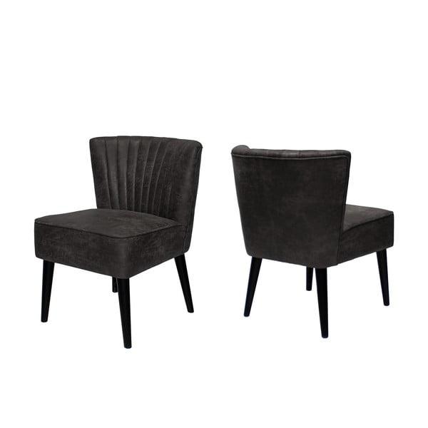 Krzesło Canett Winston Armchair, ciemne