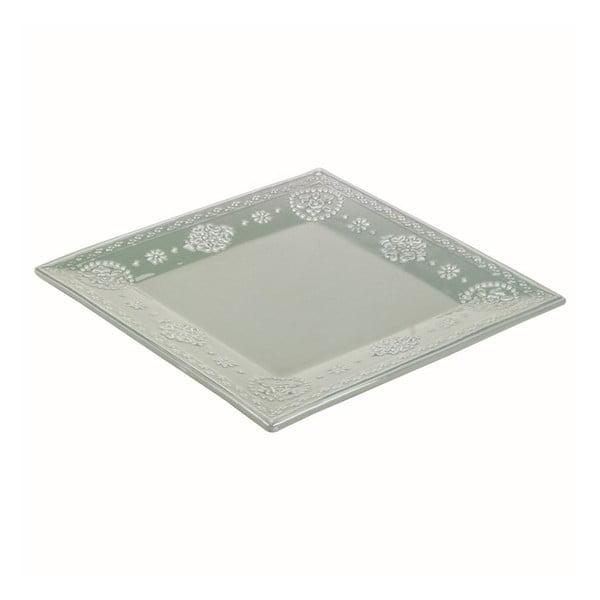 Ceramiczny talerz Light Green, 32 cm