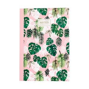 Zeszyt Rex London Tropical Palm, rozmiar A5