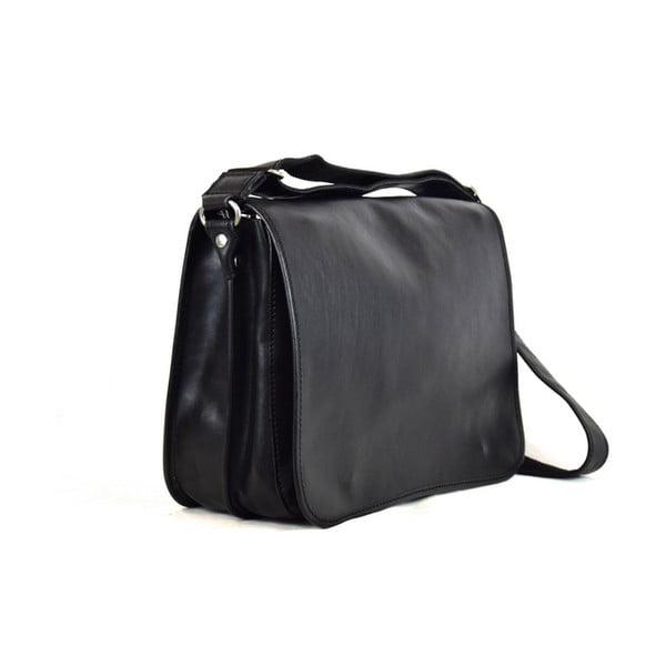 Skórzana torebka Santo Croce 8809 Black