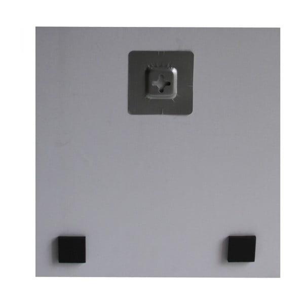 Zestaw obrazów na szkle Serduszka, 20x20 cm, 3 szt.
