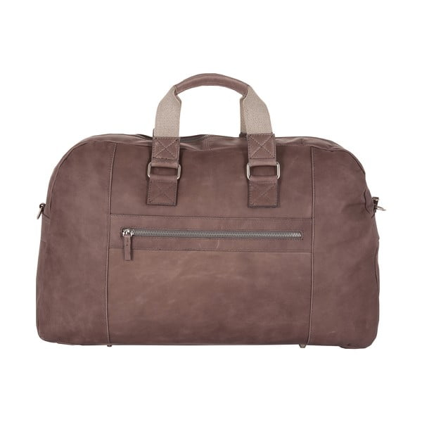 Męska torba podróżna Vintage Overnight Grey