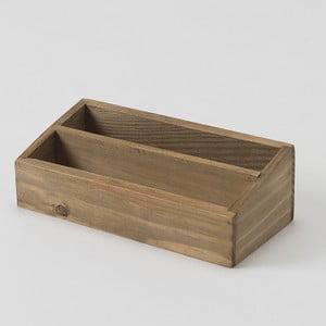 Drewniany pojemnik Vintage Box, 18,5x9,2 cm