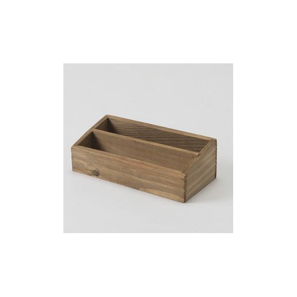 Pojemnik z drewna jodłowego Compactor Vintage Box, szer. 18,5 cm