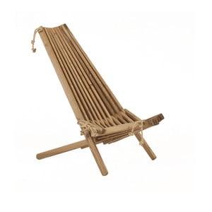 Leżak ekologiczny EcoChair, brązowy jaśmin