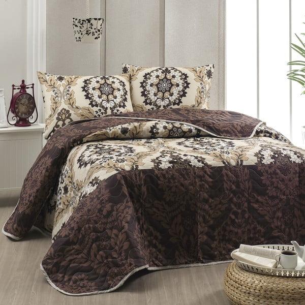 Zestaw narzuty i poszewki na poduszkę Mera, 200x220 cm