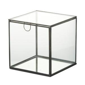 Skleněný úložný box Parlane Glass, 18 cm