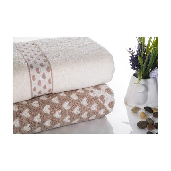 Zestaw 2 ręczników Danny V3, 50x90 cm