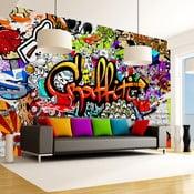 Tapeta wielkoformatowa Artgeist Colourful Graffiti, 300x210cm