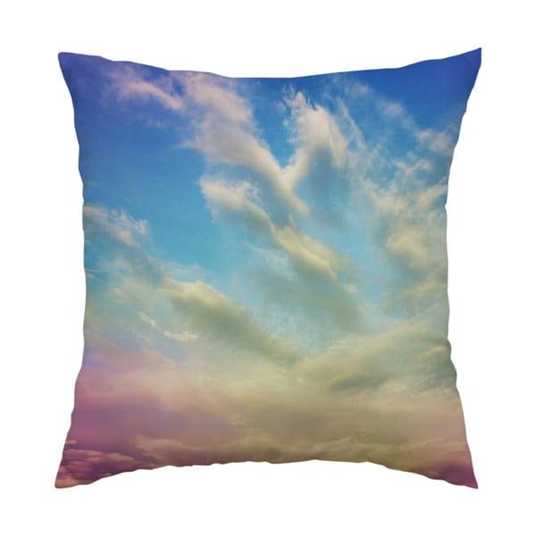Poduszka Rainbow Sky, 40x40 cm