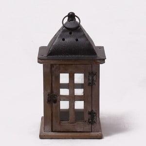 Drewniany lampion Vintage