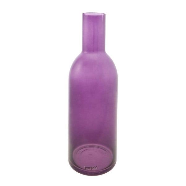 Wazon/świecznik Bottle 36,8 cm, fioletowy