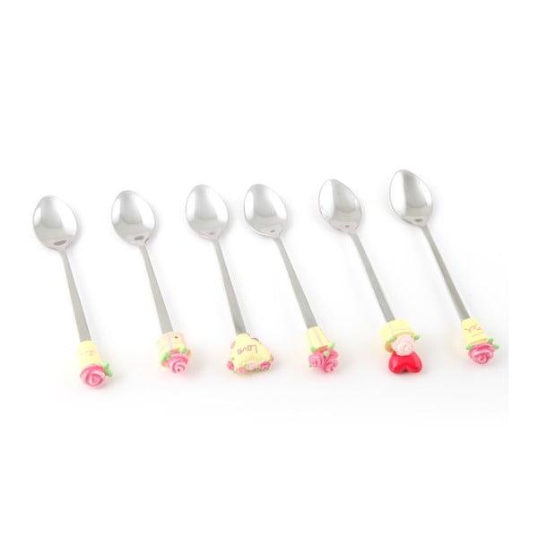 Zestaw 6 łyżeczek Słodycz miłości