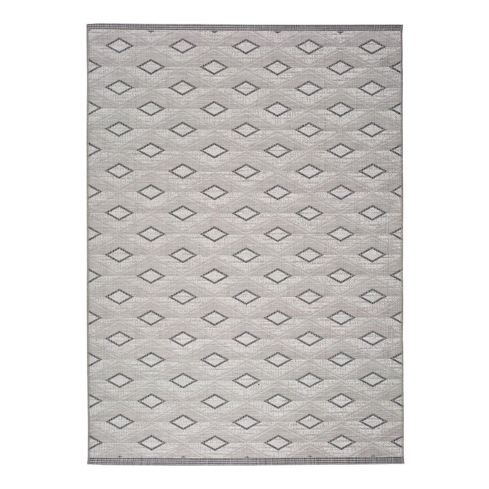 Szary dywan odpowiedni na zewnątrz Universal Weave Kasso, 130x190 cm