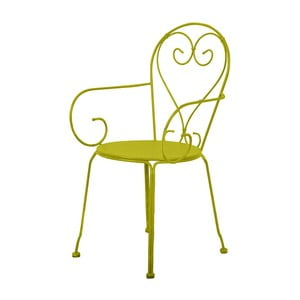 Zielone krzesło balkonowe Esschert Design Nature