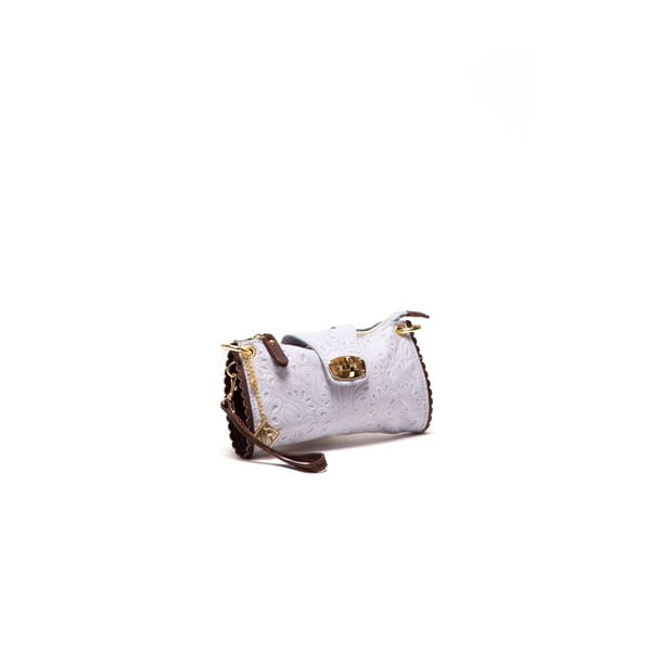 Skórzana torebka Isabella Rhea 2024 Grigio