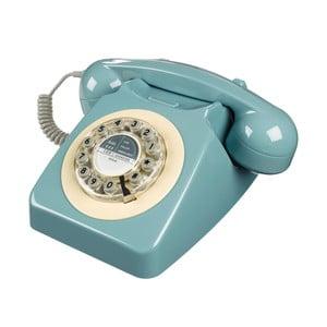 Telefon stacjonarny w stylu retro Serie 746 French Blue