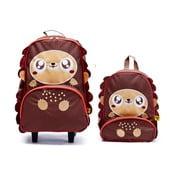 Dziecięcy plecak i walizka Jeżyk Harold