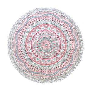 Okrągły ręcznik Mandala, ⌀155cm