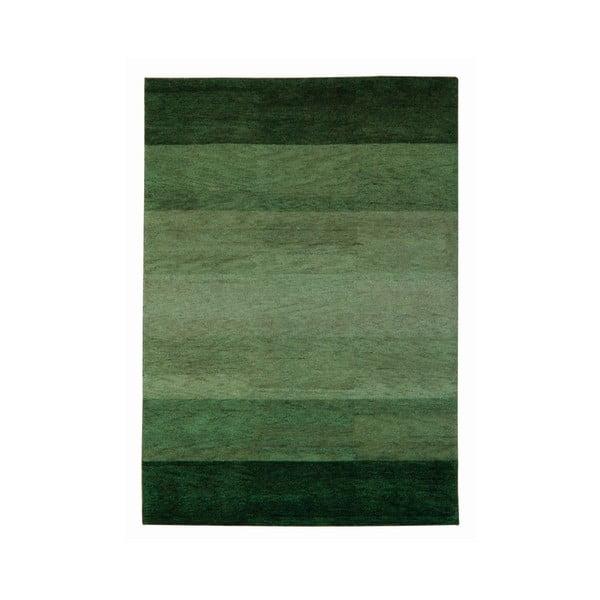 Dywan Baku Stripe Green, 70x140 cm