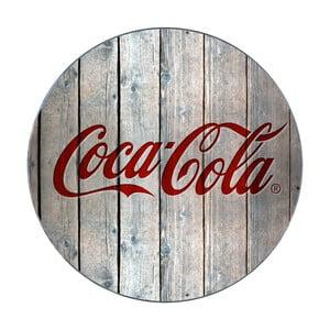 Szklana podstawka pod garnek Wenko Coca-Cola Wood