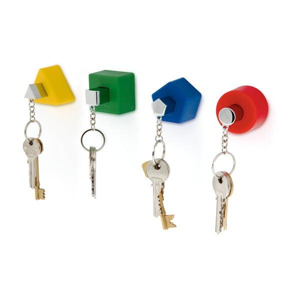 Kolorowy wieszak na klucze J-Me Shape