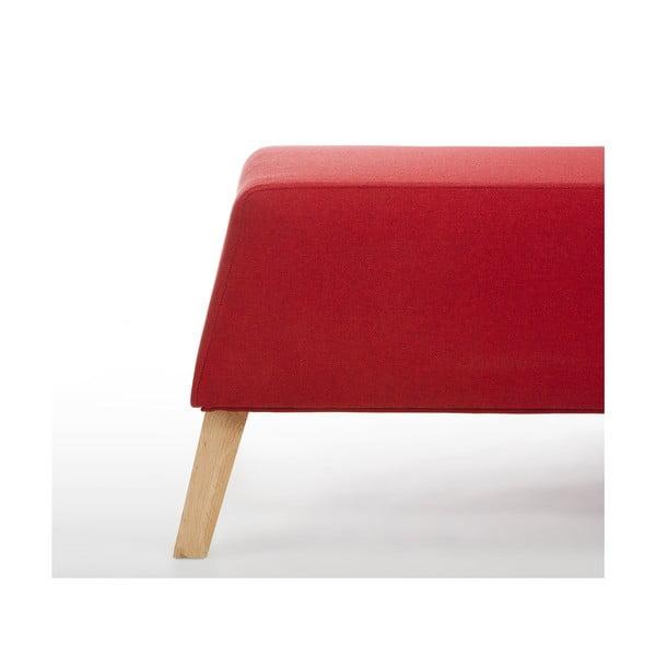 Taboret Kate, czerwony