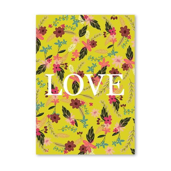 Plakat (projekt: Mia Charro) - Love Nature