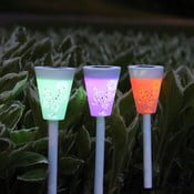 Lampa ogrodowa Solar Energy Path Lights, 3 ks