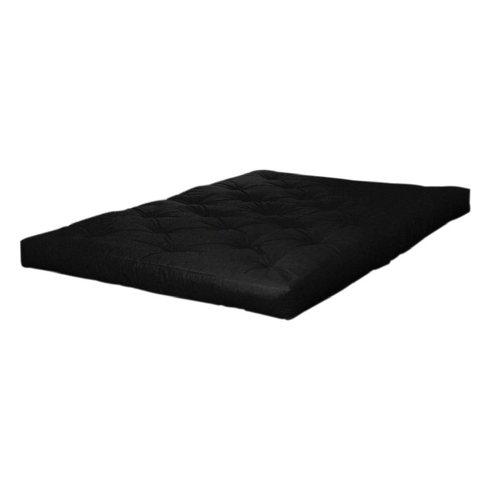 Czarny materac Karup Design Double Latex Black, 140x200 cm