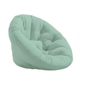 Fotel rozkładany Karup Design Nest Mint