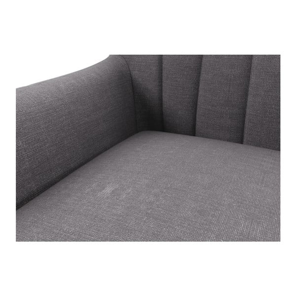 Szara   sofa dwuosobowa Wintech Azzurre