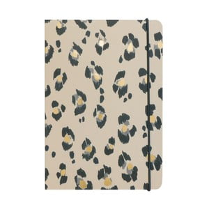 Notatnik   A5 Portico Designs Leopard, 160 str.