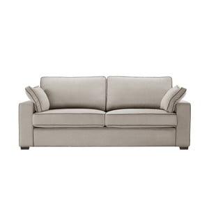 Sofa trzyosobowa Jalouse Maison Serena, taupe