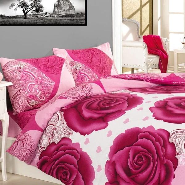 Komplet pościeli Gun Pink Rose, 240x220 cm