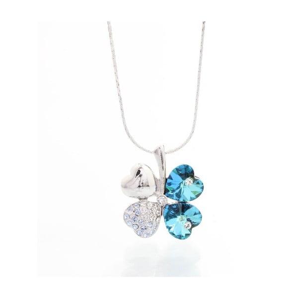 Naszyjnik Yasmine Floral Blue