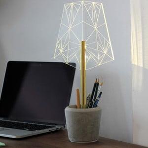 Lampka z kubeczkiem na długopisy Wired A
