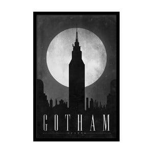 Plakat Dark Gotham, 35x30 cm