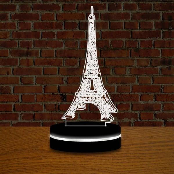 Lampka z efektem 3D Eiffelovka