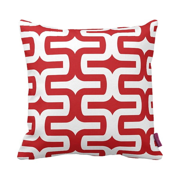 Poduszka Retro Red, 43x43 cm