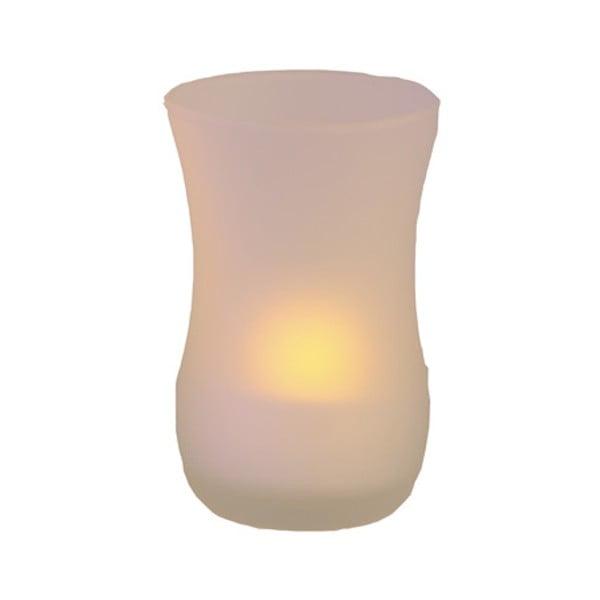 Świecznik ze świeczką LED