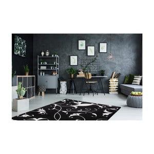 Czarno-biały dywan Obsession My Black & White Baw Blac, 80x150 cm