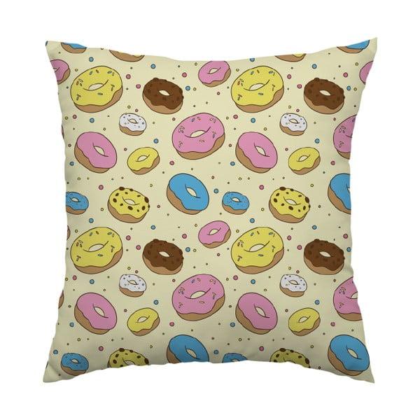 Poduszka Donut Lover, 40x40 cm