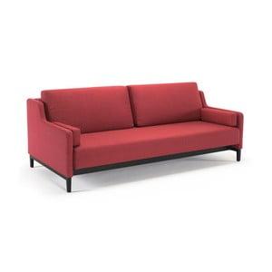 Czerwona sofa rozkładana Innovation Hermod