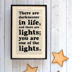 Plakat w   drewnianej ramie Dracula Darkness Light